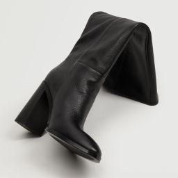 Search: Leather high heel boot (3)   Mango USA   MANGO (US)