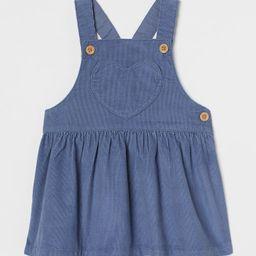 Corduroy Overall Dress | H&M (US)