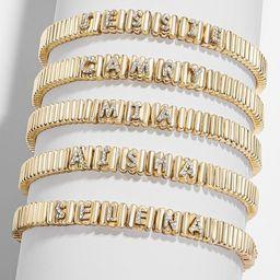 Custom Pavé Tile Pisa Bracelet | BaubleBar (US)