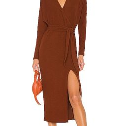 Nathalie Midi Dress in Sienna | Revolve Clothing (Global)