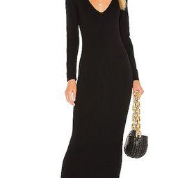 Deena Maxi Dress in Black | Revolve Clothing (Global)