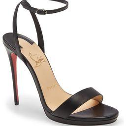 Loubi Queen Ankle Strap Sandal   Nordstrom