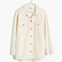 Corduroy Yorkway Shirt-Jacket | Madewell