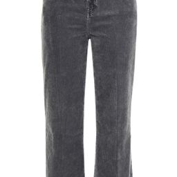 Dark gray Cropped cotton-blend corduroy straight-leg pants | Sale up to 70% off | THE OUTNET | J ... | The Outnet (US and CA)