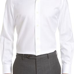 Trim Fit Cotton Dress Shirt | Nordstrom