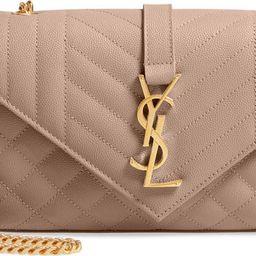 Small Envelope Calfskin Leather Shoulder Bag | Nordstrom