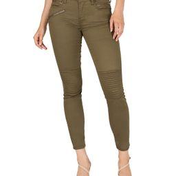 Numero Mid-Rise Moto Skinny Ankle Jeans & Reviews - Jeans - Juniors - Macy's | Macys (US)