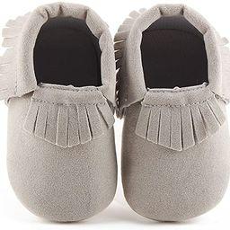 Delebao Unisex Baby Soft Sole Tassels Crib Shoes Moccasins Loafers   Amazon (US)