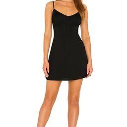 Lovers + Friends Nicole Mini Dress in Black from Revolve.com | Revolve Clothing (Global)