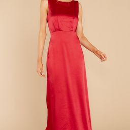 New Era Red Maxi Dress | Red Dress