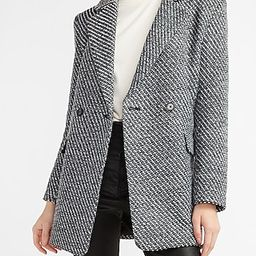 Metallic Blazer Coat | Express