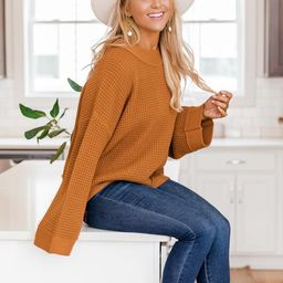 Better Than You Know Brown Sweater | The Pink Lily Boutique