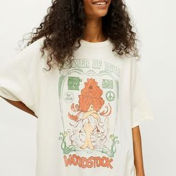 Summer Of Love Woodstock T-Shirt Dress | Urban Outfitters (US and RoW)