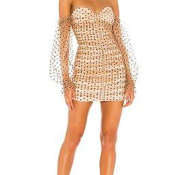 Secrets Dress in Dark Nude   Revolve Clothing (Global)