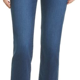 Le High Chewed Hem Ankle Straight Leg Jeans | Nordstrom