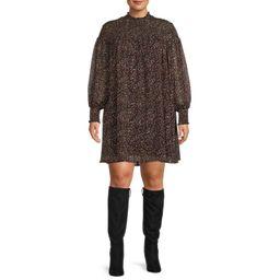 Terra & Sky Women's Plus Size Smocked Dress | Walmart (US)