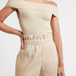 Ribbed Off The Shoulder Sweater, LTK Day, LTK Fall Sale, LTK Sale, LTKSale, LTK Early Gifting Sale | Express