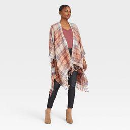 Women's Plaid Wrap Jacket - Universal Thread™ | Target