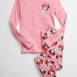 babyGap | Disney Minnie Mouse Organic Cotton PJ Set | Gap Factory