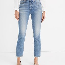 The Perfect Vintage Jean in Ainsworth Wash   Madewell