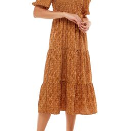 Camden Smocked Midi Dress   Nordstrom