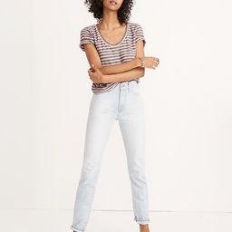 The Perfect Vintage Jean in Fitzgerald Wash   Madewell