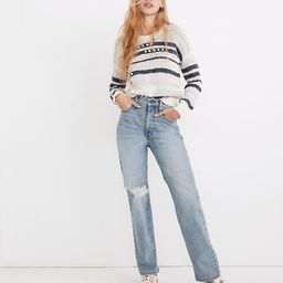 The Perfect Vintage Straight Jean in Reinhart Wash   Madewell