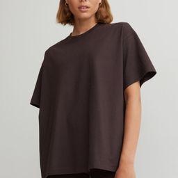 Wide-cut Cotton T-shirt | H&M (US)
