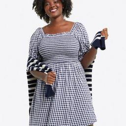 Jo Dee Dress in Gingham   Draper James (US)
