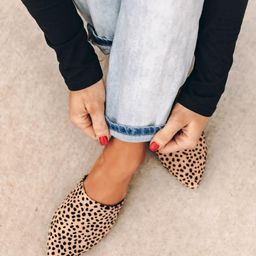 The Emma Spotted Mules   The Pink Lily Boutique