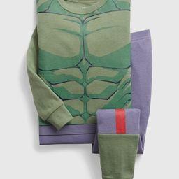 babyGap &#124 Marvel The Incredible Hulk 100% Organic Cotton Graphic PJ Set | Gap (US)