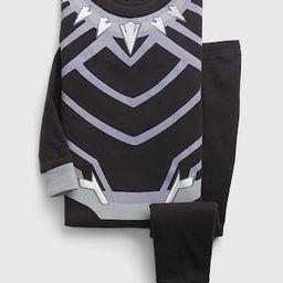 babyGap &#124 Marvel Black Panther 100% Organic Cotton PJ Set | Gap (US)