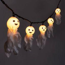 10ct Incandescent Fabric Ghost Halloween String Lights - Hyde & EEK! Boutique™ | Target