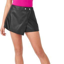 Emmy Faux Leather Skort | Nordstrom