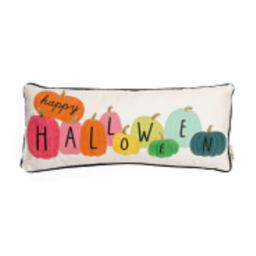 12x28 Rainbow Pumpkins Pillow | TJ Maxx