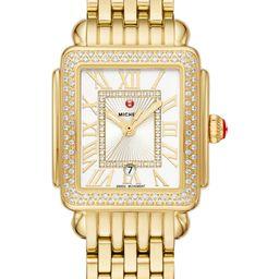 Deco Diamond Watch Head & Bracelet, 29mm | Nordstrom