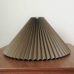 Clip on shade: Khaki Green chintz knife pleated lampshade | Etsy | Etsy (US)