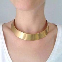 Brass gold chokertribal chokerethnic chokerAfrican   Etsy   Etsy (US)