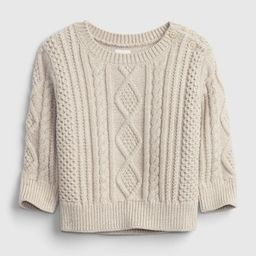 Baby Button Sweater | Gap (US)