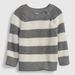 Baby Ribbed Button Sweater | Gap (US)