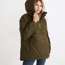 Quilted Packable Popover Puffer Jacket   Madewell