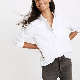 Shrunken Button-Down Oxford Shirt   Madewell