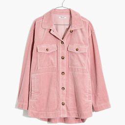Corduroy Yorkway Shirt-Jacket   Madewell