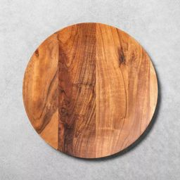 Acacia Wood Plate Charger - Hearth & Hand™ with Magnolia   Target