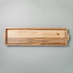 Carved Wood Tray - Hearth & Hand™ with Magnolia   Target