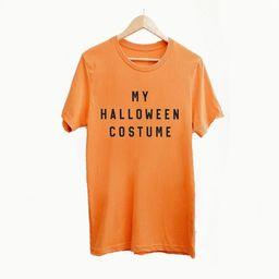 My Halloween Costume T-shirt Halloween T-shirt Happy | Etsy | Etsy (US)