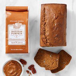 Williams Sonoma Spiced Pecan Pumpkin Quick Bread Mix   Williams-Sonoma