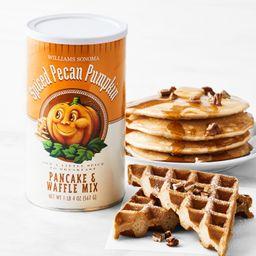 Williams Sonoma Spiced Pecan Pumpkin Pancake & Waffle Mix   Williams-Sonoma