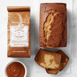 Williams Sonoma Pumpkin Caramel Quick Bread Mix   Williams-Sonoma