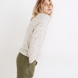 Donegal Bowden Henley Sweater in Coziest Yarn | Madewell